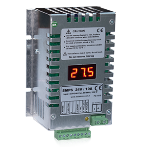 SMPS-1210/2410 display